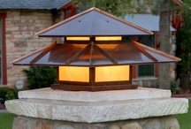 Post Lanterns / A selection of post lanterns created by Lightcrafters in Austin, TX