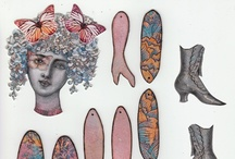 poupée articulée, articulated paper dolls, / by freemous