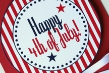~Celebrate~Happy 4th Of July~ /                                     ~AMERICA~ ~My Country Tis' of Thee........Sweet Land of Liberty~  / by Donna Callihan