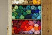 knitting, crocheting, handcrafting, villoja, keriä
