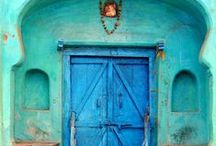 blues, azules