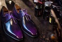 patina shoes / handpainted shoes