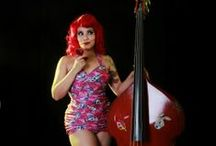 rockabilly and upright bass
