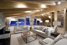 Casa Flumina Ski Chalet / Powder Byrne Properties presents the Swiss Owner's Collection; luxury ski chalets in the Swiss Alps.
