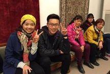 #Cappadocia Bazar 54 Trip / Our #Chinese guests liked #Turkish hand knotted carpets..  Çinli misafirlerimiz el dokuması halılarımızı çok beğendiler:)