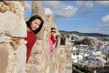 Bodrum Tour / #BodrumKalesi, sahili ve mandalinası ile ünlü şehrimizde keyifli bir gezi gerçekleştirdik.  Had a nice trip in #Bodrum who is famous with #BodrumCastle, beach and mandarin...  #Turkey #Travel #Tourism