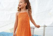 Knitting patterns for kids spring/summer / Summer patterns for children aged 0 - 12 years. A range of patterns to knit or crochet for your little shipmates as well as sophisticated outfits for special occasions.