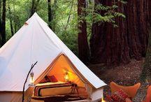 G L A M P I N G / Chic camping designs!