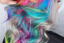 Hair Color Inspiration / Bold Hair Dye and Unique Fashion Colors