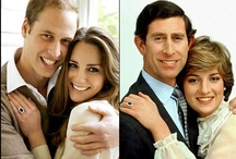 Charles & Diana / William & Kate / by Angeline Gong