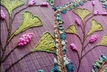 A needle pulling thread / by Rosalie Walker