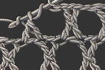 Puntadas en crochet / Solo puntadas