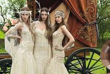Bohemien Wedding Style / Hippie & Bohemien wedding dresses!