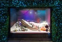 Christmas Display / The best Christmas Window Displays, Interiors and Facades