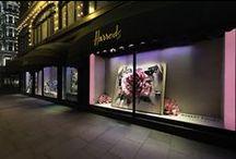 MA: HARRODS / Harrods Window Displays, Pop-ups, Visual Merchandising, Retail Design and Events by Millington Associates