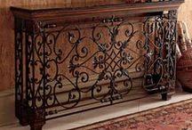 Кованая мебель и решетки / ковка металл