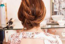 A u b u r n s / Beautiful red hair, Merida-style: a golden, copper halo ♡