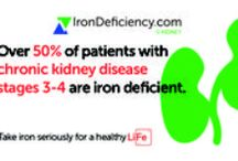 Chronic Kidney Disease and Iron Deficiency / If you have been diagnosed with chronic kidney disease, commonly known as CKD, your chances of having anaemia increase. Iron deficiency could be playing a role in this anaemia