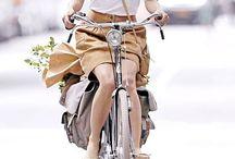 Girls on Bikes / Fashion, beauty, freedom.