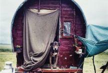 We live in Caravans