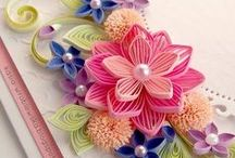 Quilling / quilling  / by Paper Piece - eco friendly jewelry and home styling with paper
