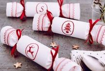 Red Work Christmas / Christmas Inspired by Beautiful Red Work Stitching