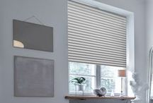 Plissees || pleated blinds