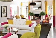 Colour Pop Rooms / Beautiful Bold, Bright and Colourful Decoration Ideas