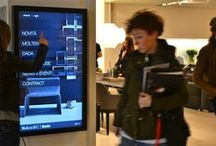 Sales Force DIgital Assistant / The bands that focus their retail and customers relations' strategies on digital supports are growing more and more. DOOH.IT designs mix of digital and interactive initiatives, which could be easily integrated into corporate strategies, aiming to increase consumers' awareness and sales worldwide.