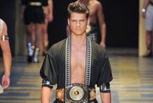 Gladiator Fashion / some of inspiration for my next corporate party theme