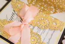 Luxury Wedding Invitations + Couture Wedding Invitations + Invitation Boxes + unique Wedding Invitation Boxes / Handmade, luxury invitation boxes.