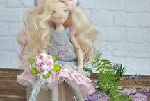 Dolls by @creativepositiv / Текстильные куклы