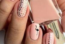 Nails art / Nails art, manicure, nail polish