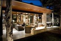 Modern Ranch Homes / Mid Century Inspirational Ranch Homes. Pin what you like and show us what your ideal Modern Ranch Home would look like.