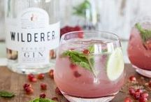 Healthy drinks and cocktails / Healthy drinks, detox drinks, infused water, cocktail ideas, summer drinks, cooling drinks, winter drinks.