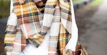 STYLE || Blanket Scarves / The best of blanket scarves fashion & style ideas from the fashion and lifestyle blog Two Peas in a Blog.