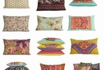 Cushions / All the wonderful cushions and pillows fabric from Missoni ,Kenzo,Liberty