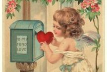 ✿⊱ Vintage Valentijnkaarten / I pin for personal interest only. I don't claim copyright or ownership of any content on any of the boards. I will not be responsible for any copyright infringement.