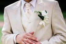 Men's Cravats / Men's plain and patterned satin scrunchie cravat on pre-tied and self-tie cravats style.