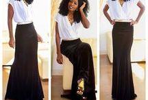 Long Dresses & Skirts♥