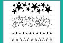 So Many Stars Stamp Set / Reverse Confetti September stamp release: So Many Stars