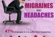 Migraine Infographics / Understanding migraines through statistics, images and research.