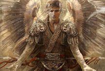 seres fantásticos / Anjos, sereias, dragões,...