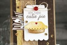 Easy As Pie Stamp Set / Reverse Confetti Stamp set: Easy As Pie (September 2015)
