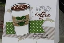 Caffeinated Cups Stamp Set / Reverse Confetti Stamp set: Caffeinated Cups (September 2015)