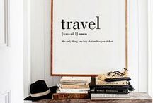 Travel interior / Bringing travels and souvenirs back home and make a travel interior style out of it! My favorite inspirational ways to make a nomad and gypsy approved house!