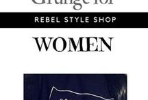 Grunge for Women / #Grunge style and fashion ideas