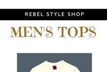 Rebel Style Men's Tops