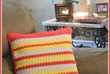 Decorative Pillows / DIY ideas for creative pillows - because every room needs one...or a few!