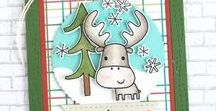 Merry Christmoose stamp set / Merry Christmoose stamp set by Reverse Confetti (Oct 2016)